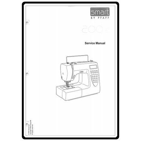 Service Manual, Pfaff 200C