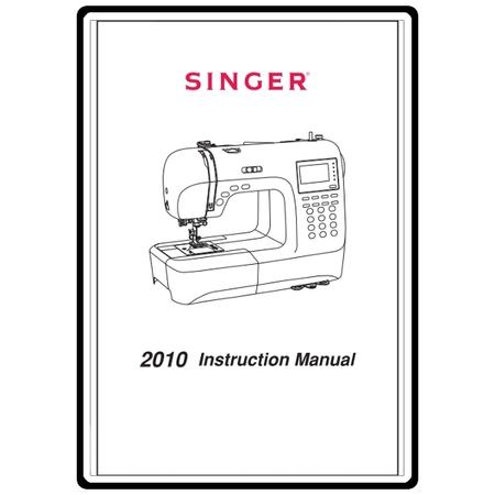 Instruction Manual, Singer 2010HSN