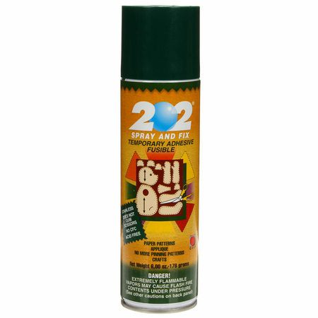 202 Spray & Fix Temporary Adhesive (6oz), Odif