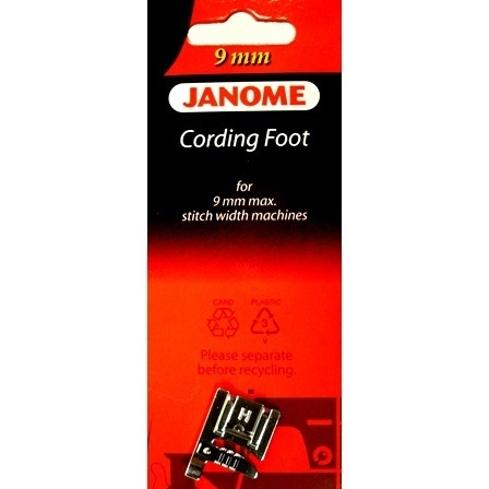 3-Way Cording Foot, Janome #202085001