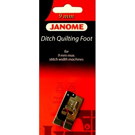 Ditch Quilting Foot, Janome #202087003