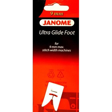 Ultra Glide Foot, Janome #202091000