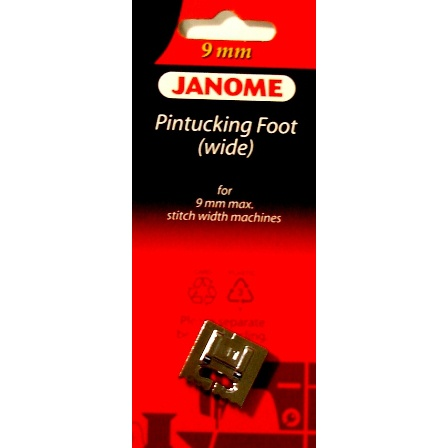 Pintucking Foot (Wide), Janome #202093002
