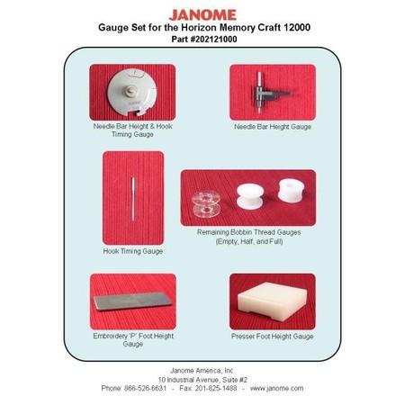 Gauge Kit, Janome #202121000