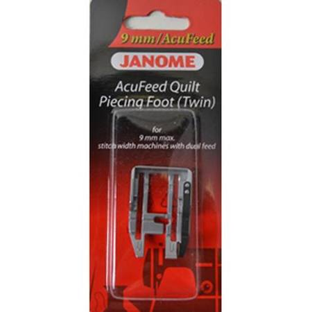 Acufeed Quilt Piecing Foot (Twin), Janome #202125004