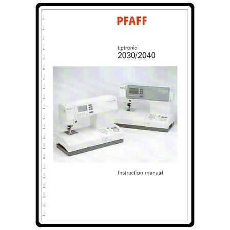service manual pfaff 2040 sewing parts online rh sewingpartsonline com