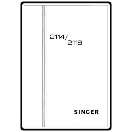 Instruction Manual, Singer 2114