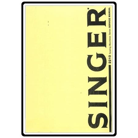 Service Manual, Singer 2210