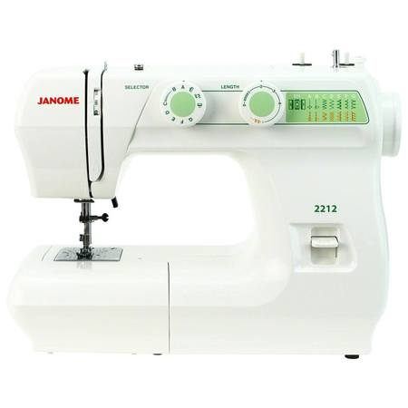 Janome 2212 Mechanical Sewing Machine (12 Stitches)