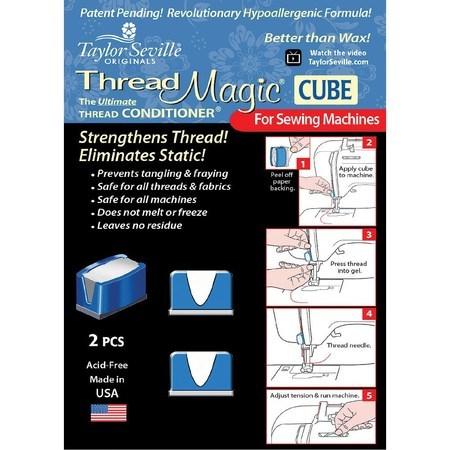 Thread Magic Thread Conditioner Cubes 2pk, Taylor Seville