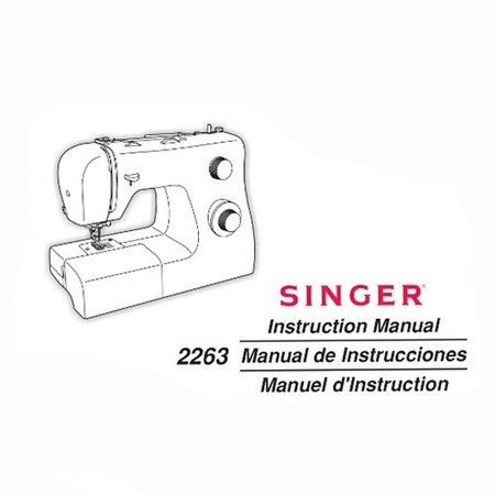 instruction manual singer 2263 simple sewing parts online rh sewingpartsonline com Singer Simple 2263 Manual User Singer Simple 3116 Instruction Manual