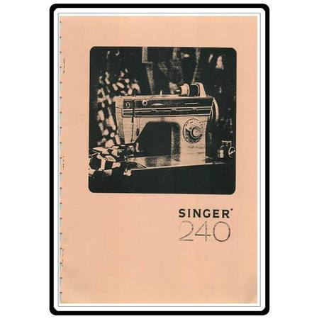Instruction Manual, Singer 250