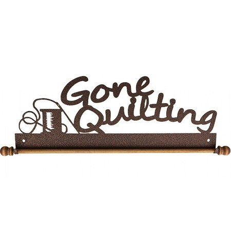 Gone Quilting Quilt Holder - Copper