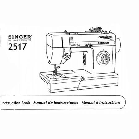 Instruction Manual, Singer 2517
