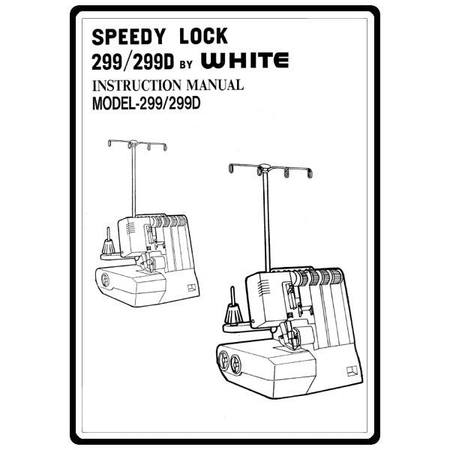 Instruction Manual, White 299D