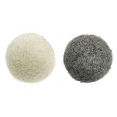 Wooly Felted Wonders, Dryer Balls - Bag of 4, Assorted Colors