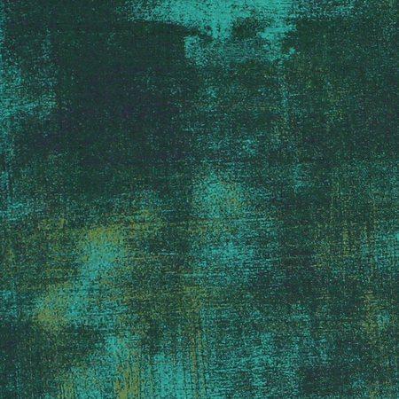 Moda, Grunge Basics, Christmas Green Fabric