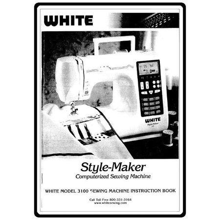 Instruction Manual, White 3100