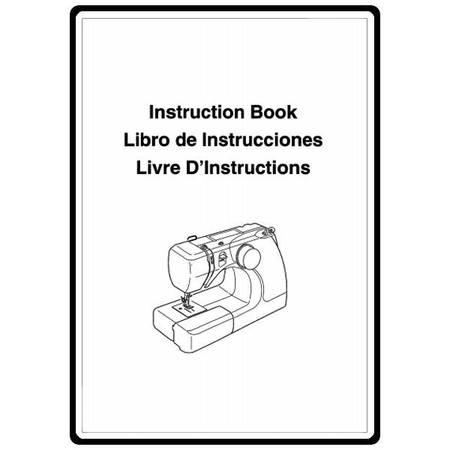 Instruction Manual, Janome 3125