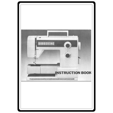 Instruction Manual, Bernina 320