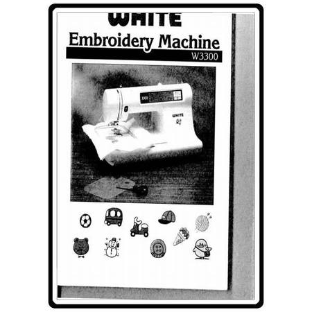 Instruction Manual, White 3300