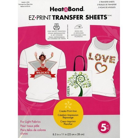 EZ Print Transfer Sheets 5pk