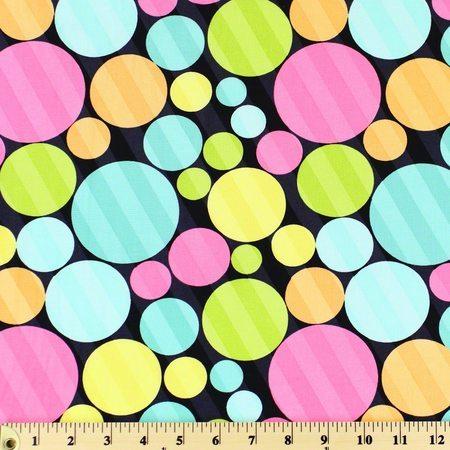 Windham, Dotcom, Striped Dots Fabric