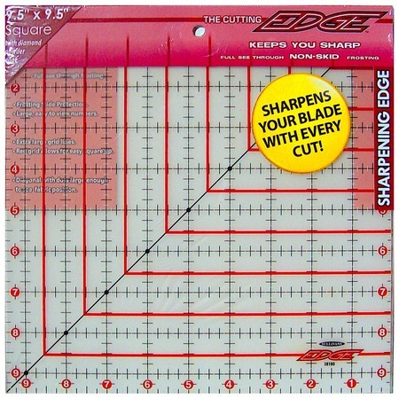 "The Cutting Edge Ruler 9.5"" x 9.5"", Sullivans"