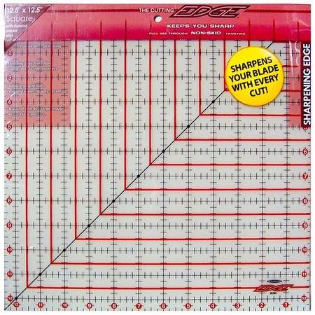 "The Cutting Edge Ruler 12.5"" x 12.5"", Sullivans"