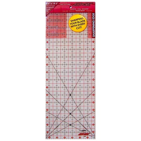 "The Cutting Edge Ruler 6.5"" x 18.5"", Sullivans"