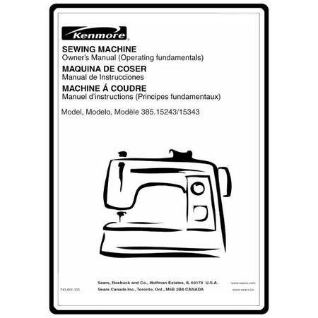 Instruction Manual Kenmore 4040 Sewing Parts Online Extraordinary Kenmore Sewing Machine 385 Price