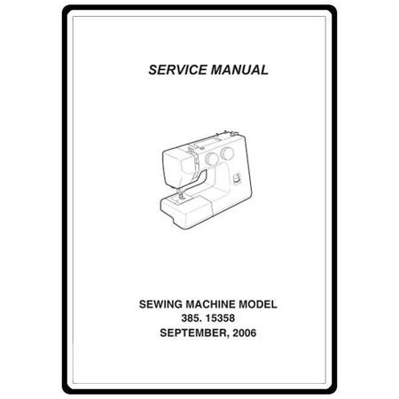 Service Manual, Kenmore 385.15358600