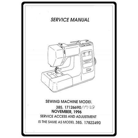 Service Manual, Kenmore 385.17128