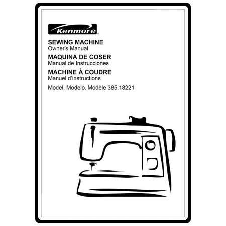 Instruction Manual, Kenmore 385.18230790