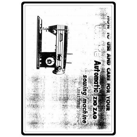 Instruction Manual, White 3955