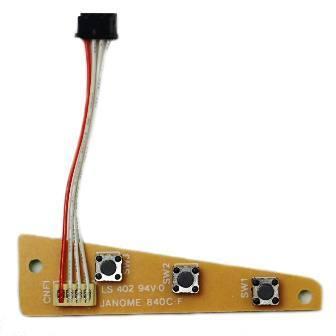 Printed Circuit Board (F), Elna #395727-47