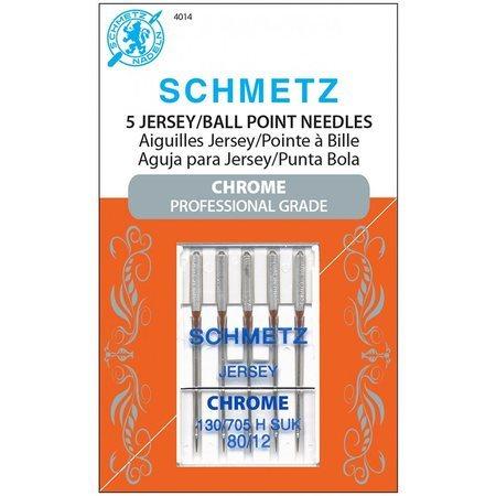 Chrome Ball Point Needles, Schmetz (5pk)