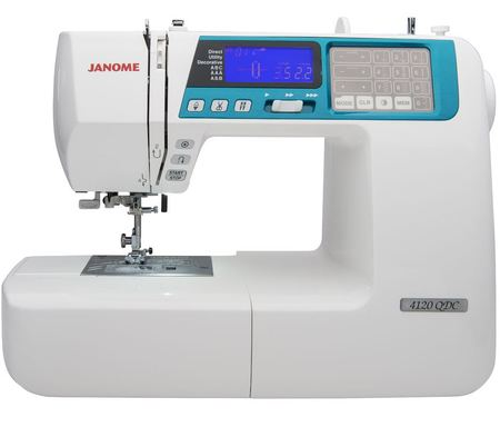 Janome 4120QDC-B Computerized Sewing Machine