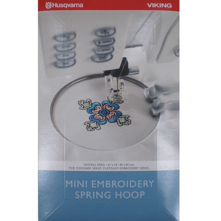 Mini Embroidery Spring Hoop, Viking #4125739-01