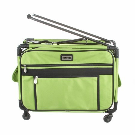 Tutto 40in Wheeled Sewing Machine Case Lime Sewing Parts Online Impressive Bernina Sewing Machine Totes On Wheels