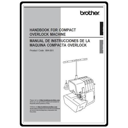 Instruction Manual, Brother 4232D