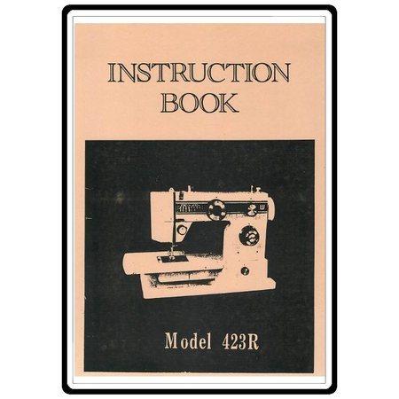 Instruction Manual, White 423R