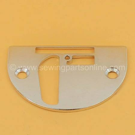 Needle Plate w/Cut-Out for Binder Set, Singer #44137B
