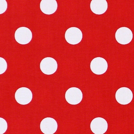Moda Classic, Medium Dottie, Christmas Red Fabric