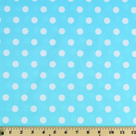 Moda Classic, Medium Dottie, Robins Egg Fabric