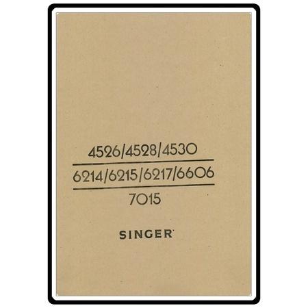 Instruction Manual, Singer 4526