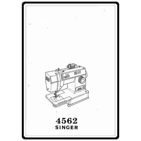 Instruction Manual, Singer 4562