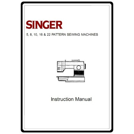 Instruction Manual, Singer 4622