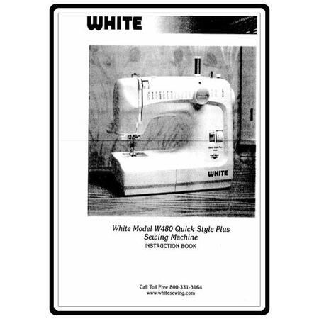 Instruction Manual, White 480