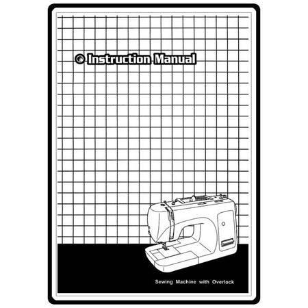 Instruction Manual, Necchi 4825